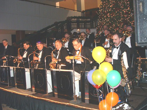 Performing at a New Year's Eve Gala